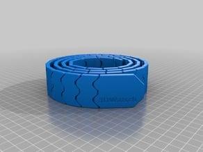 115cm My Customized Belt (print in place, , MMU design)