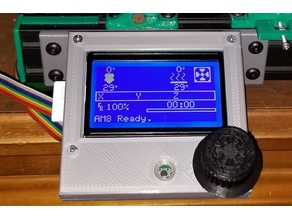 FYSETC 12864 full graphic smart controller LCD enclosure