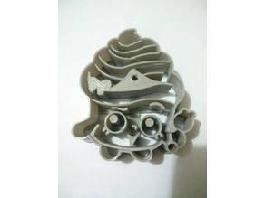 shopkins cupcake cookie cutter