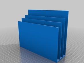 UniversalMaker's 50x170x100 Customized Letter Organizer