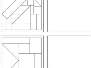 Tangram Puzzle Set 1