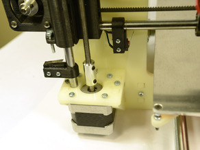 Low Cost Z Axis Coupler for Prusa i3 and other 3D printers