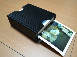 Polaroid photo storage box