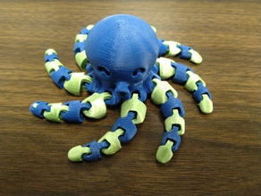 Cute Mini Octopus (Dual-Extrusion Remix)