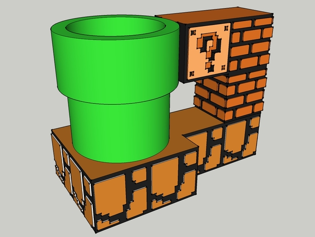 Super Mario Can Stein by firepinto - Thingiverse
