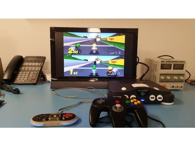 N64,000 Game emulator by FeedMePi - Thingiverse