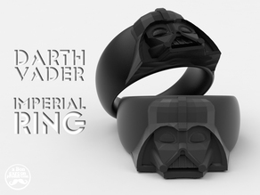 DARTH VADER RING -the Next Ring Episode Size 9-