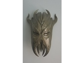 Miraak Mask Wall Mount