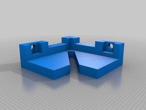 Glass bed Bracket Anet A8 Remix