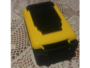 Dewalt XR Battery container