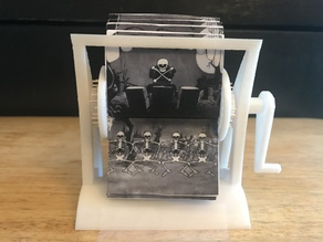 Flip-it! the 3D printed rotary flipbook