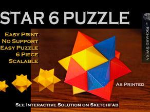 Star 6 Puzzle