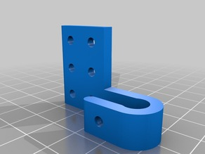 Cyclone PCB X End Stop Holder extended