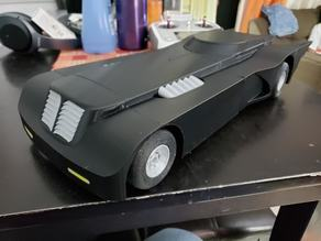 Batmobile Open RC Body and Rims