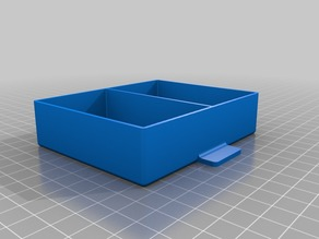Part box with Drawer 5 x 25mm80mm100mm