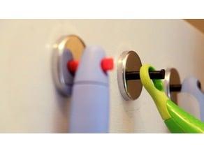 Magnetic refrigerator hook