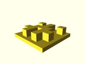 Github Avatar Identicon and pixel art  3D Model Generator Parametric
