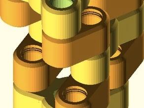 Schmidt Style Coupling (parametric)