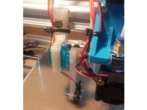 Autolevel Z-probe mount and arm for Velleman K8200 / 3Drag (5g servo)