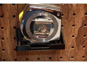 peg board holder for tape measure