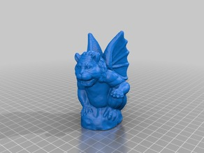 Gargoyle - photogrammetry scanned model