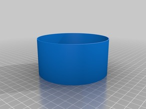 Salad ring with press