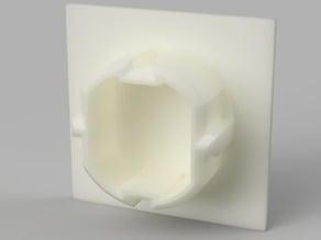 Schuko Socket Cover Square