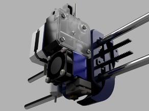 Wanhao Duplicator i3 E3D Titan Extruder mount