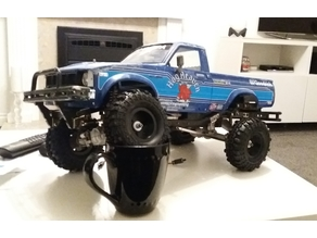 bruiser hg p407 front shock / body mount
