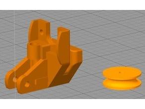 Roulette guide filament vers extrudeur Pour CR10 S5