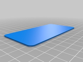 parametric rounded corner plate