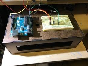 Arduino Uno and Breadboard holder Laser Cut