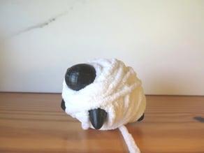 Sheep Yarn Ball Wrap