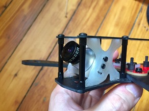 ImpulseRC Alien Side Plate for Runcam Eagle 2 (and sorta Foxeer Arrow V3)