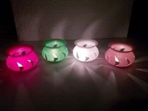 Simple tealight holder