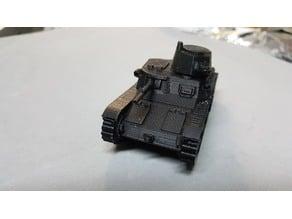 Italian M11/39 tank 28mm scale
