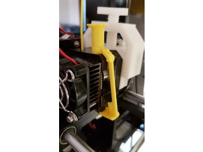 """Anet A6 Extruder Toggle Button """"The Stateful Height"""""""