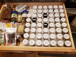 Spice Jar Spacer / Organizer