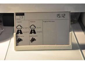 Raspberry Pi zero and Waveshare E-Paper 7.5 inch frame