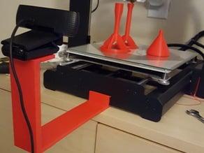 Duplicator i3 (Maker Select) v2 Camera Mount (with tripod hole)
