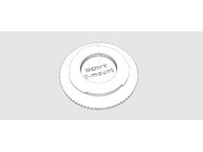 Sonye Nex/ E-mount Body Cap