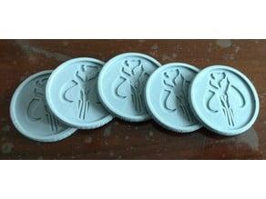 Boba Bucks (Mandalorian Coin)
