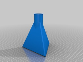 Triangular Potion Bottle