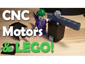 Nema 8 - LEGO Technic compatible face-plate