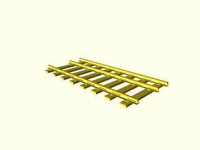 Dual Gauge Parametric Railway Tracks