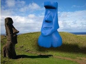 patagonia easter island sculpture
