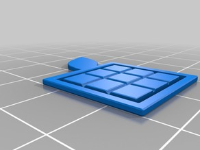 Laranja 3D Clip