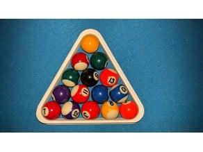 Pool Rack for 1.25 inch mini pool table