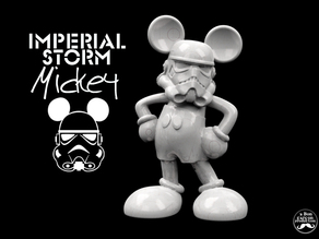IMPERIAL STORM MICKEY -Desktop Disney Trooper-