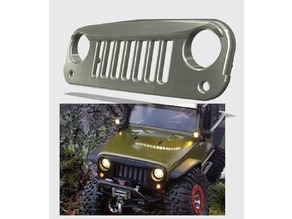 Axial SCX10 Jeep JK - Front Grille Complete